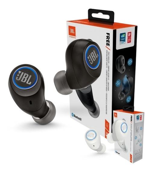 Fone De Ouvido Jbl Free X Bluetooth Preto Original Lacrado
