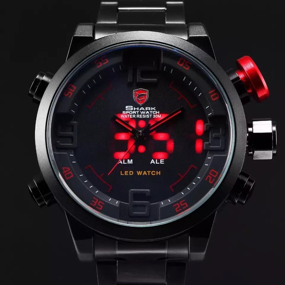Relógio De Luxo Shark A Prova D