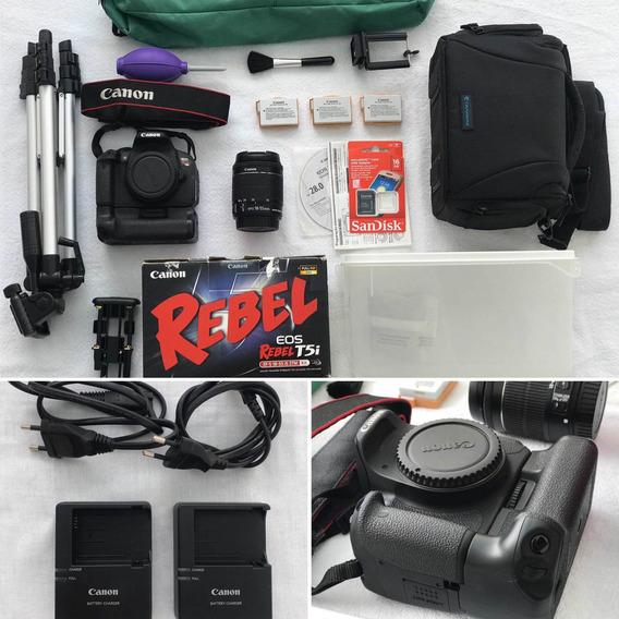 Canon T5i+acessórios