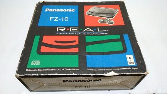 Panasonic 3do Fz 10 Na Caixa Vídeo Game Original + Jogo Gex