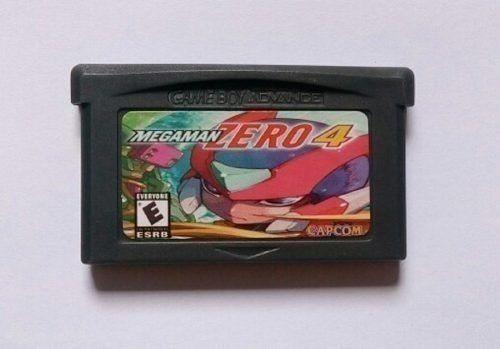 Megaman Zero 4 Mega Man Rockman Game Boy Advance Gba