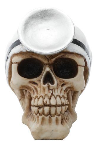 Caveira Resina Doctor Head Skull Urban 44191