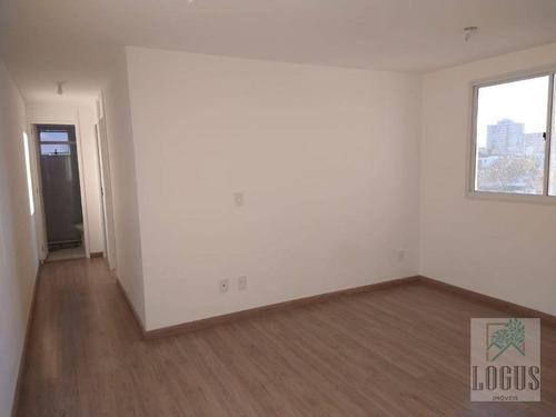 Imagem 1 de 14 de Apartamento Com 2 Dormitórios, 53 M² - Venda Por R$ 240.000,00 Ou Aluguel Por R$ 803,00/mês - Santa Terezinha - São Bernardo Do Campo/sp - Ap0847
