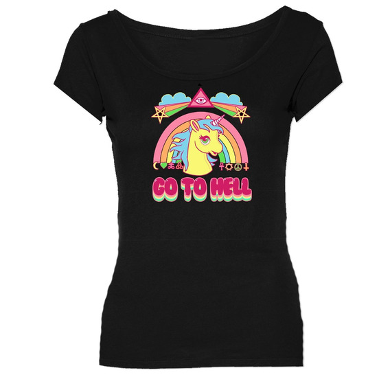 Remeras My Little Pony Mi Pequeño Go To Hell *mr Korneforos*