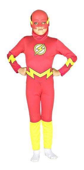 Disfraz Flash Liga De La Justicia Lic. Original Sulamericana