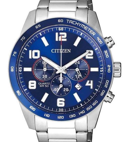Relógio Citizen Masculino Crono An8161-50l / Tz31454f