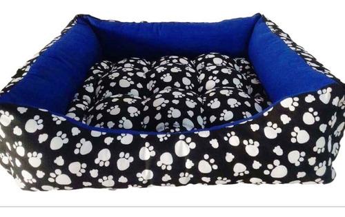 Imagem 1 de 10 de Cama De Cachorro 60cm Para Porte Médio Super Confortável