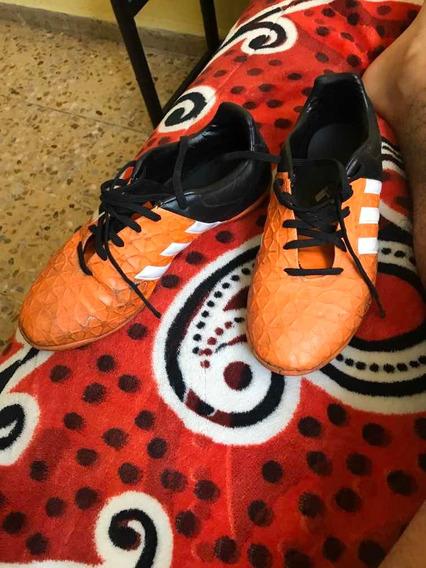 Tenís Color Naranja (futbol Rápido )