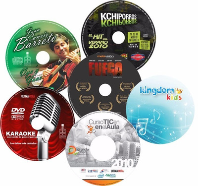 Duplicado Grabado Impresion Printeo Rotulado Cds Dvds Bluray