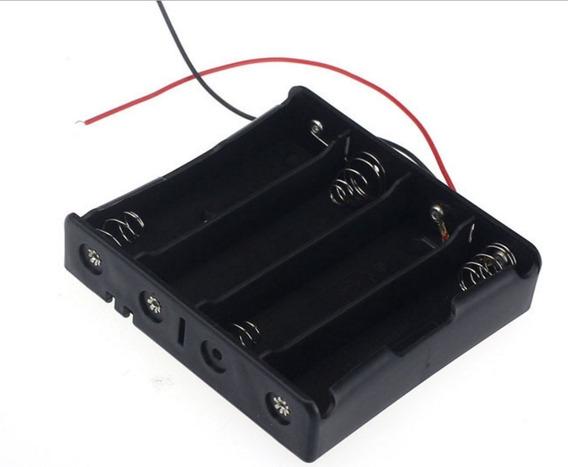 Suporte Caixa Porta 4 Baterias 18650 Esp8266