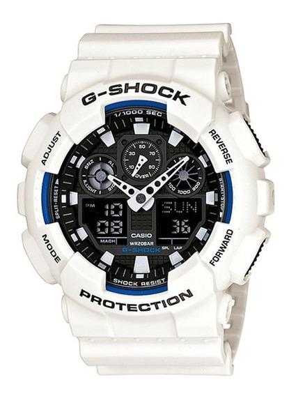 Relógio Masculino G-shock Ga-100b-7adr Barato