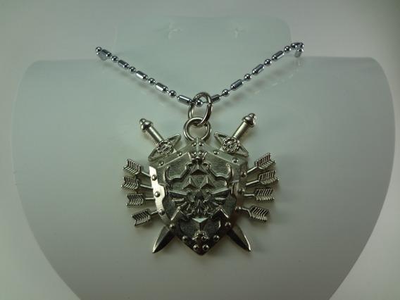 Llavero Dije O Collar De Zelda Escudo