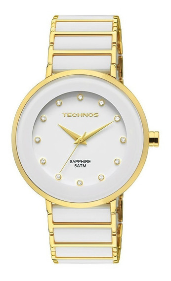 Relógio Technos Ceramic/sapphire Analógico 2035lmm/4b
