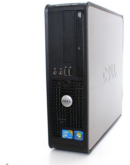 Desktop Dell 780 Slim Optiplex Core2duo Sem Memória E Sem Hd
