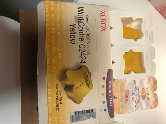 Cera Xerox C2424 Amarelo 108r00662