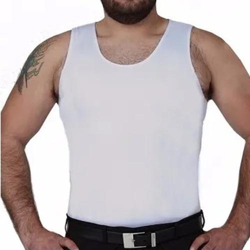 Imagem 1 de 7 de Cinta Modeladora Masculina Melhora Postura Super Discreta