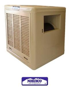 Enfriador Evaporativo N-3900-h Salida Lateral 1/3 Hp Paja