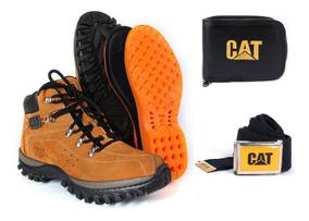 Coturno Bota Tenis Caterpillar Adventure Original E Kit Cat