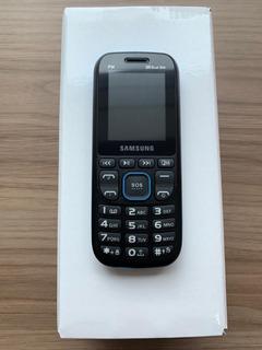 Celular Samsung B320 Dual Sim Fm Azul Leia Descrição + Nf