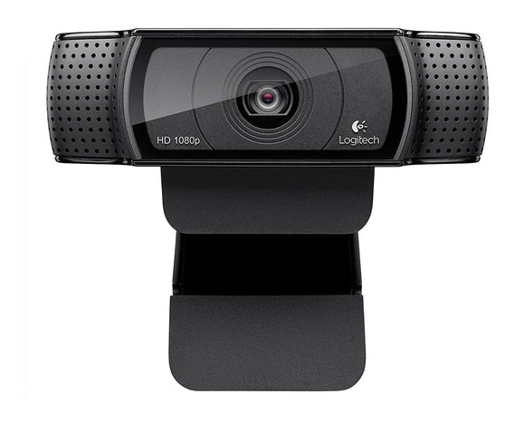 Webcam Logitech C920 Full Hd 1080p 15mp Com Microfone Ótimo