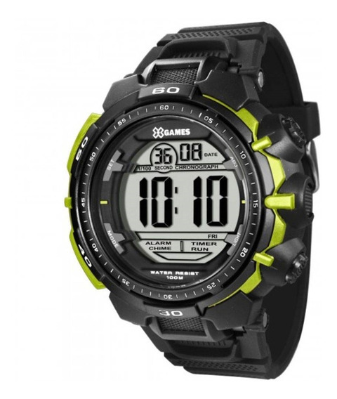 Relógio Masculino Xgames Xmppd402/bxpx - Preto