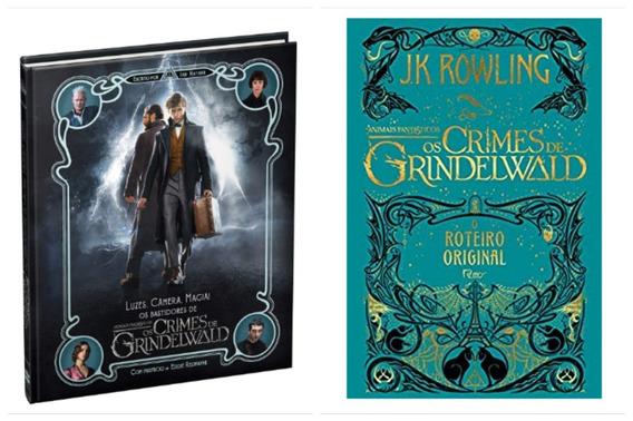 Livro Luzes, Câmera E Magia + Os Crimes De Grindelwald
