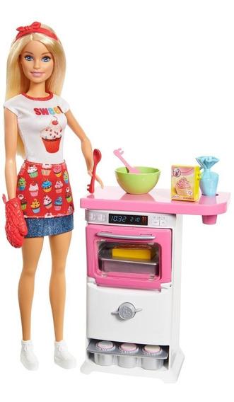 Barbie Cocina Y Crea Chef De Pastelitos