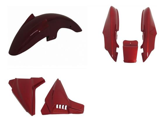 Kit Carenagem Speed Dafra 150 Vermelho Todos