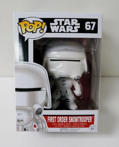 First Order Snowtrooper Funko Pop Star Wars 67 Bonellihq L18