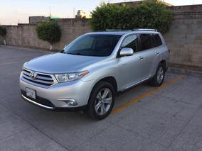 Toyota Highlander Limited Aa Qc Piel R-19 4x4 At