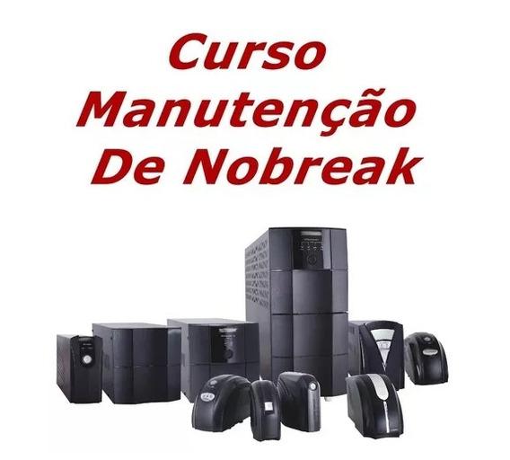 Curso Manutenção De Nobreak - Video Aulas No Gdrive