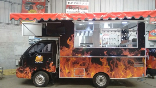 Food Truck Hr Kia Bongo Modelos (montagem Sem O Veículo)