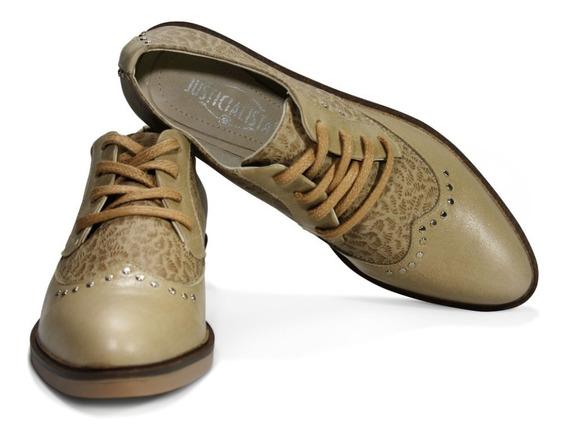 Zapatos Mujer Justicialistas Azurduy Cuero Vacuno