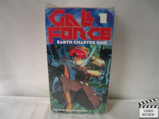 Gal Force: Earth Chapter 1 2 3!! Vhs Ingles Subtitulado!!