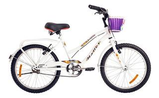 Bicicleta Rodado 20 Paseo Niña Nena Halley 19333 Local Gtia