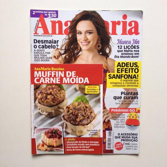Revista Ana Maria Bianca Bin Sidney Sampaio Ano 2016