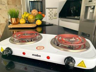 Cocina Eléctrica Dos Hornillas Mabe