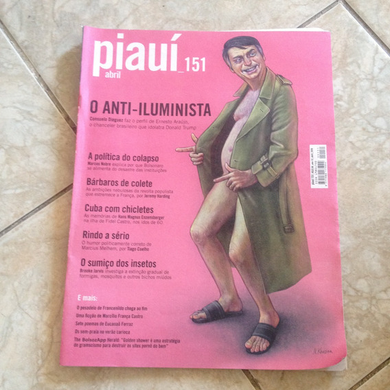 Revista Piauí 151 Abril 2019 O Anti-iluminista Polítia C2