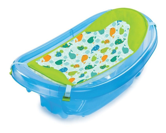 Bañera Con Hamaca Sparkle And Splash Blue, Summer