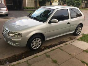 Volkswagen Gol 1.4 Power 83cv 3 P Aa Da Cd Gris Plata Unico