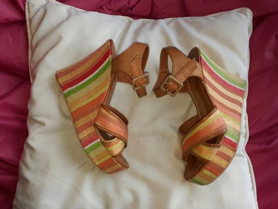 Sandalias Coloridas Nro.38
