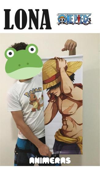Lona De One Piece Monkey D Luffy Para Colgar - Animeras