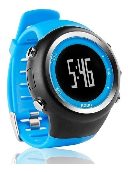Relógio Com Gps T031 Ezon Original Calorias Usb Unissex