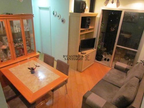 Apartamento Com 2 Dormitórios À Venda, 51 M² Por R$ 349.000 - Mooca - São Paulo/sp - Ap0589