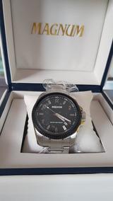 Relógio Magnum Cor Prata