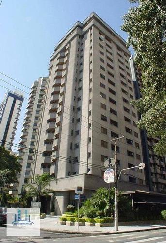 Imagem 1 de 17 de Apartamento Com 1 Dormitório Para Alugar, 48 M² Por R$ 3.500/mês - Moema - São Paulo/sp - Ap3931
