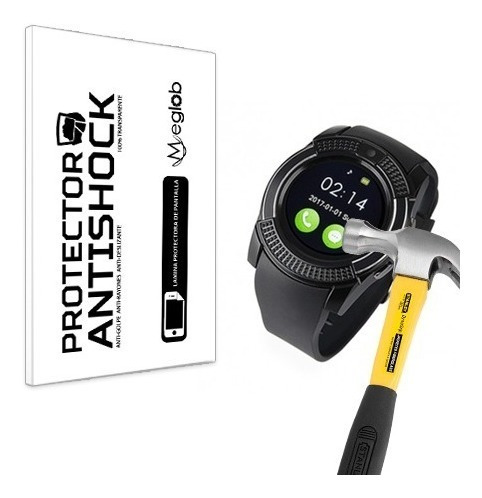 Lamina Protector Pantalla Anti-shock Smartwatch V8