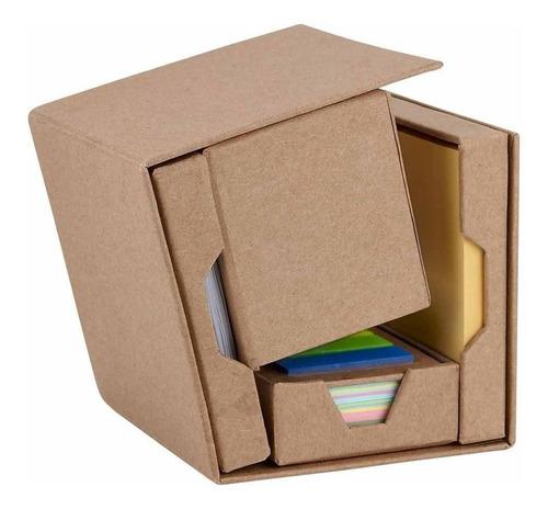 Imagen 1 de 4 de Caja Lapicero Y Porta Notas Adheribles Armable