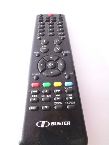 Controle Remototv Buster Original Usado Htr-d19
