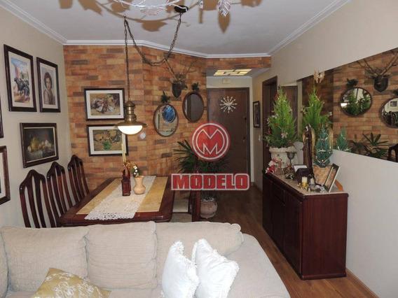 Apartamento À Venda, 72 M² Por R$ 250.000,00 - Jaraguá - Piracicaba/sp - Ap1566